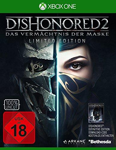 Dishonored 2: Das Vermächtnis der Maske - Limited Edition (inkl. Definitive Edition) (Xbox One) für 9,74€