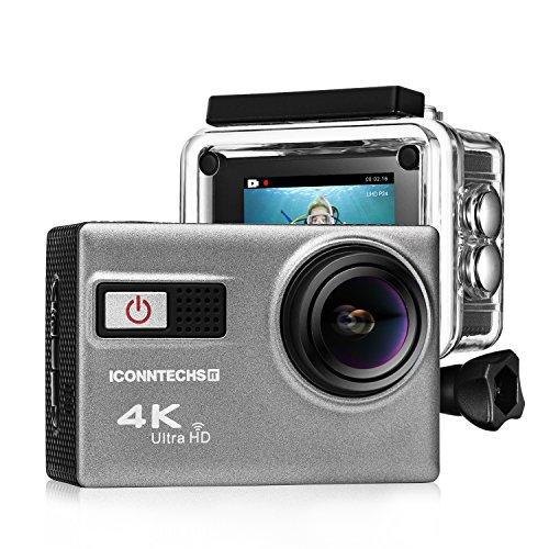 ICONNTECHS IT 4K Ultra HD Wasserfeste Sport-Actionkamera für 49,91€