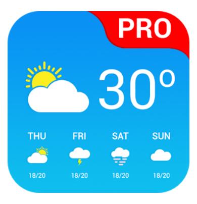 """(Android) """"Wetter App Pro"""" - GRATIS - statt 3,09 €"""