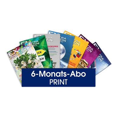 EXtra-Magazin Abo 6 Monate (Print) - Aktionsangebot  Per Post direkt zu Ihnen nach Hause