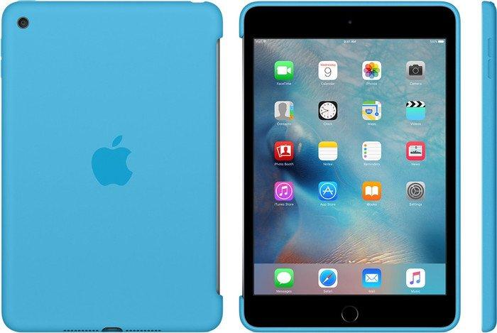 Apple iPad mini 4 Silikon Case (blau) um 12,90 € inkl. Versand