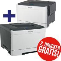 """LogoIX - 2x (!!!) Lexmark """"CS317dn"""" Duplex-Farblaser-Drucker um 122 €"""