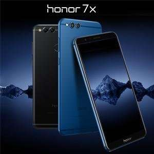 Amazon.es: Honor 7X, blau, um 246,73€