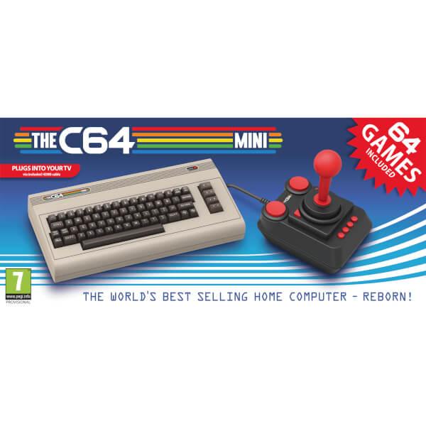 [Zavvi] The C64 – offizielle mini Konsole mit 64 Spielen für 81,98€ (Vorbesteller)