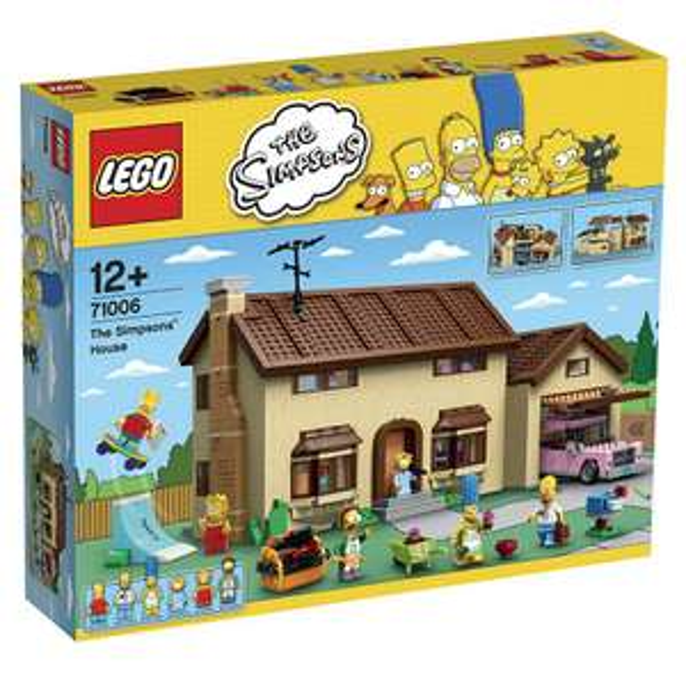 LEGO Simpsons Haus ToysRus
