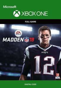 Madden NFL 18 (Xbox One Download) für 21,65€