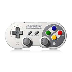 Kabelloser Bluetooth Retro Controller für Nintendo Switch, Android, PC