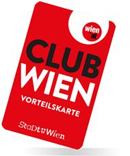 Club Wien - Gratis Clubkarte mit  5-20% Ermäßigung bei Vorteilspartnern der Stadt Wien