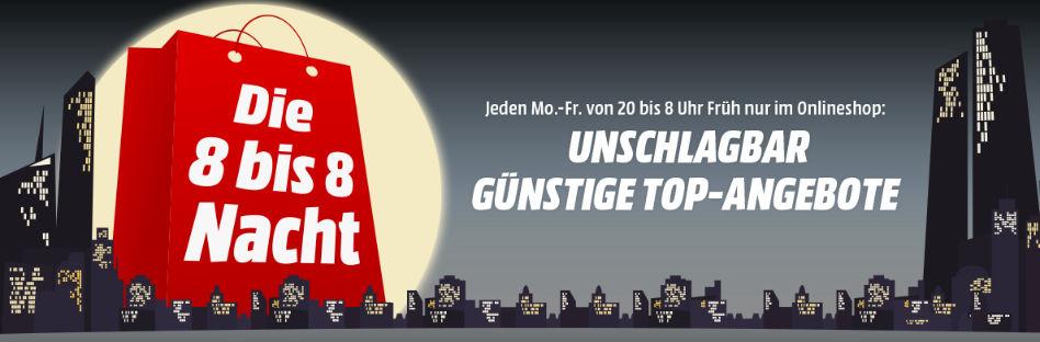 [www.MediaMarkt.at] Die 8 bis 8 Nacht...Heute mit dabei Amiibos für je € 5,--  das Stück & Diverse Games mit Gratis Versand