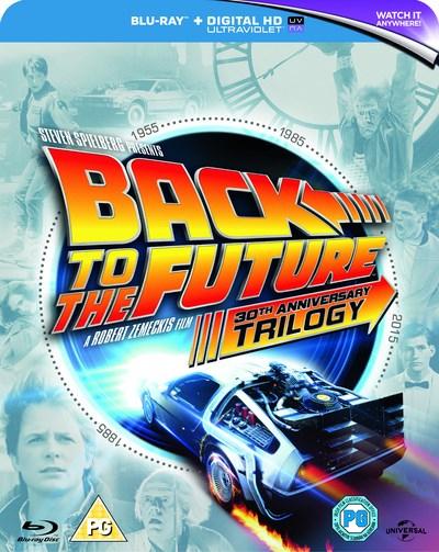 Zoom.co.uk: Zurück in die Zukunft Trilogie, 30th Anniversary Edition, um 7,83€