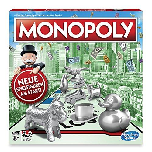 Amazon.de: Hasbro Monopoly Classic um 15,67€ // Sonderausgabe mit 64 Figuren um 21,13€