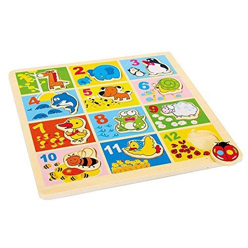 Amazon Plus Produkt Legler 3469 - Setzpuzzle - Zootiere 1,78 Euro