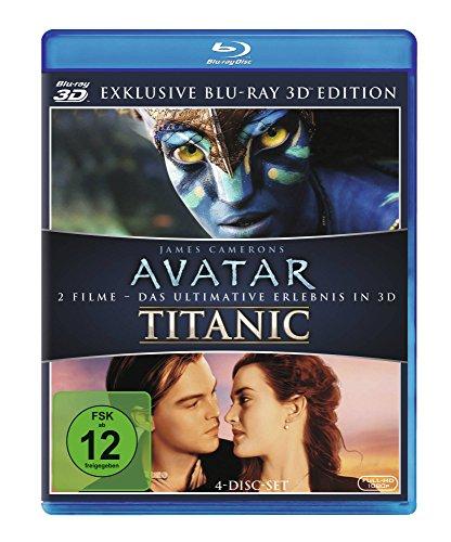 Avatar 3D und Titanic 3D - Doppel Blu-Ray