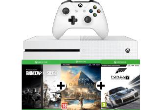 Top Xbox One S 1TB Bundle mit 5 Games und gratis Versand (nur MM Online)