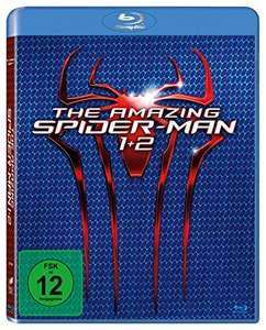 Amazon Prime: The Amazing Spider-Man + The Amazing Spider-Man 2 - Rise of Electro (Blu-Ray) für 6,97€