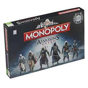 Amazon Prime: Assassins Creed Monopoly-Brettspiel für 16,13€