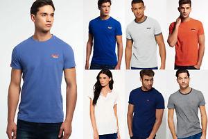 Neues Superdry für Männer und Frauen T-shirts Versch. Modelle