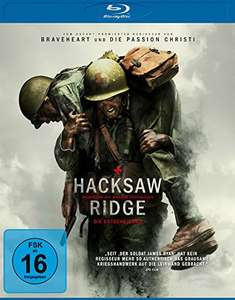 [Amazon] Hacksaw Ridge (Blu-Ray & DVD)