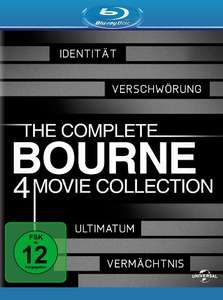 [Amazon] The Complete Bourne Collection (Blu-Ray & DVD)