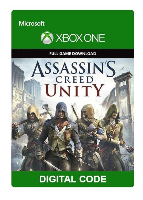 Assassin's Creed: Unity (Xbox One Digital Code) für 49 Cent (CDKeys)