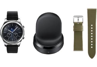 (2x) Samsung Gear S3 Classic + Wireless Charging Dock + Lederarmband um 389 €