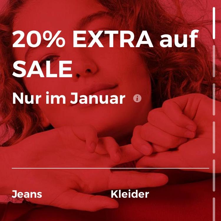 -20% extra auf sale artikel nur in der about you app im gesamten jänner
