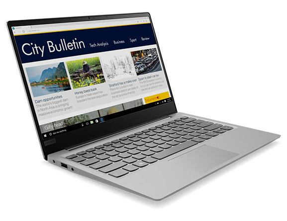 [Lenovo Österreich]  Lenovo Ideapad 320S-13IKB grau, i5-8250U, 8GB RAM / 512GB SSD, GeForce MX150 für 711,20 € statt 906,90 €