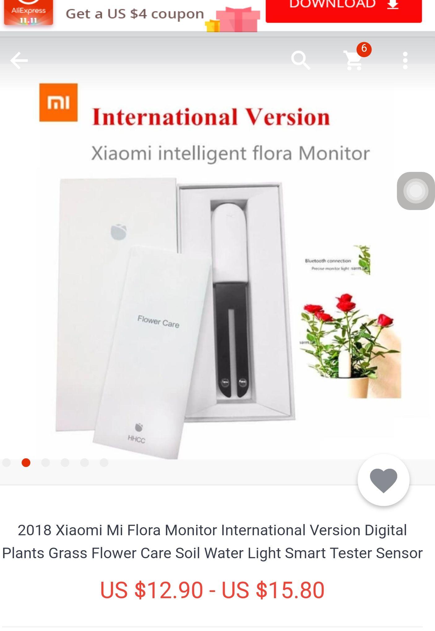 """INDOOR Bodenfeuchtesensor  Xiaomi Mi """"Flora Monitor"""""""