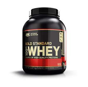 Optimum Nutrition Whey Gold Standard Protein, Double Rich Chocolate, 2,27kg // 15% Spar-Abo 33,31€