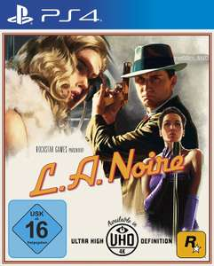 Amazon Prime: L.A. Noire (PlayStation 4) für 24,19€