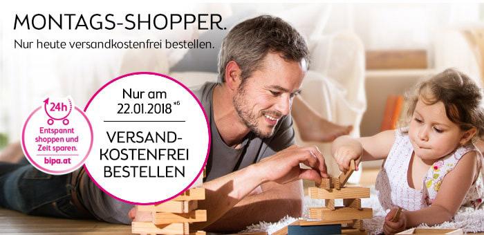 nur am 22. Jänner 2018: versandkostenfrei bei Bipa.at shoppen