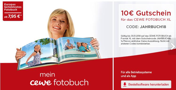 BIPA: -10€ auf ein cewe Fotobuch ab dem Format XL