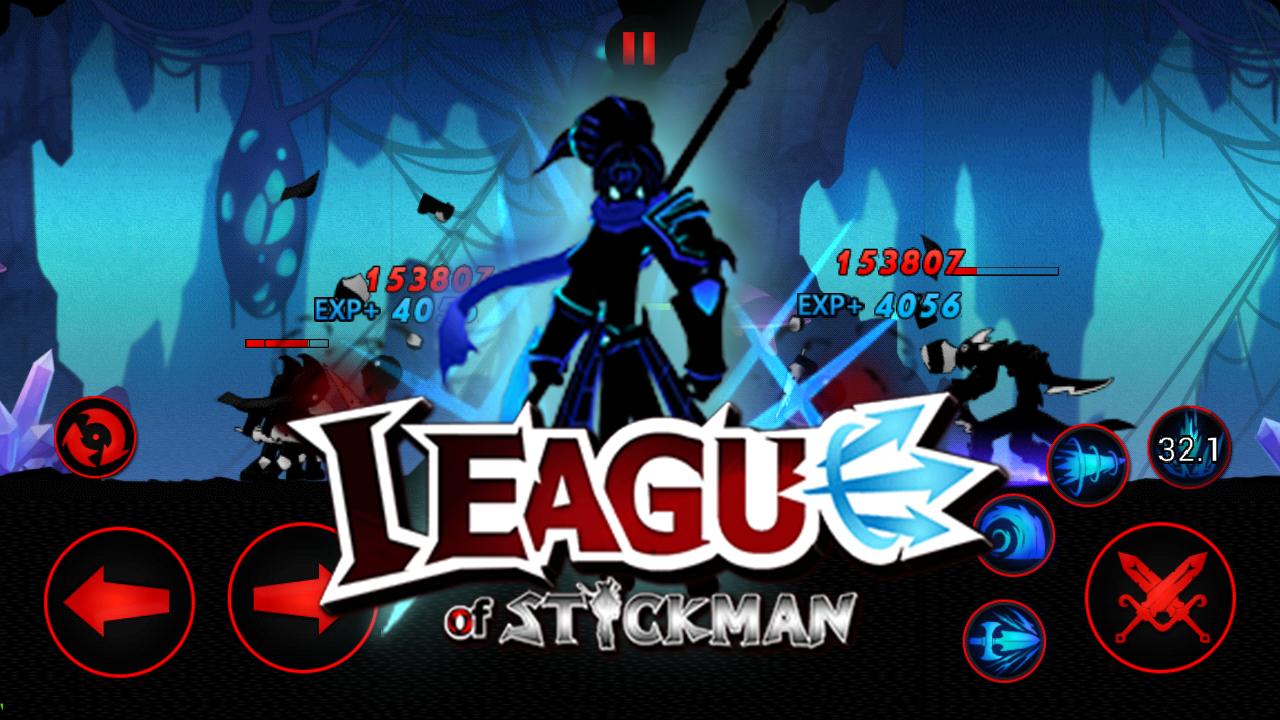 Playstore: League of Stickman 2017-Ninja(Dreamsky)