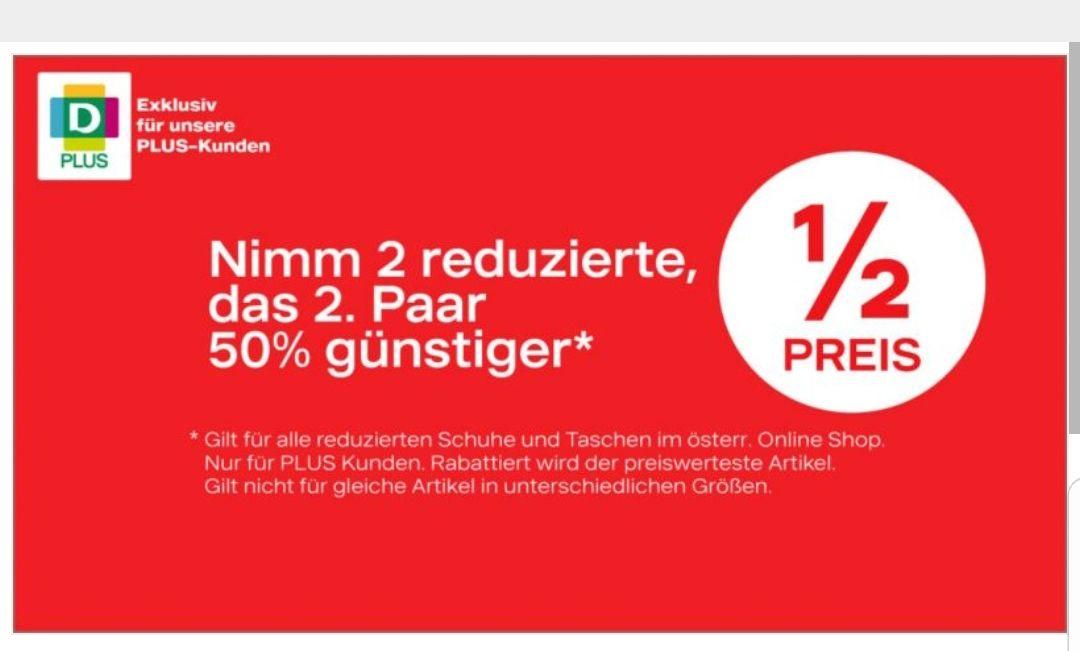 DEICHMANN PLUS - Nimm 2 reduzierte und zahl das 2. Paar 50% billiger