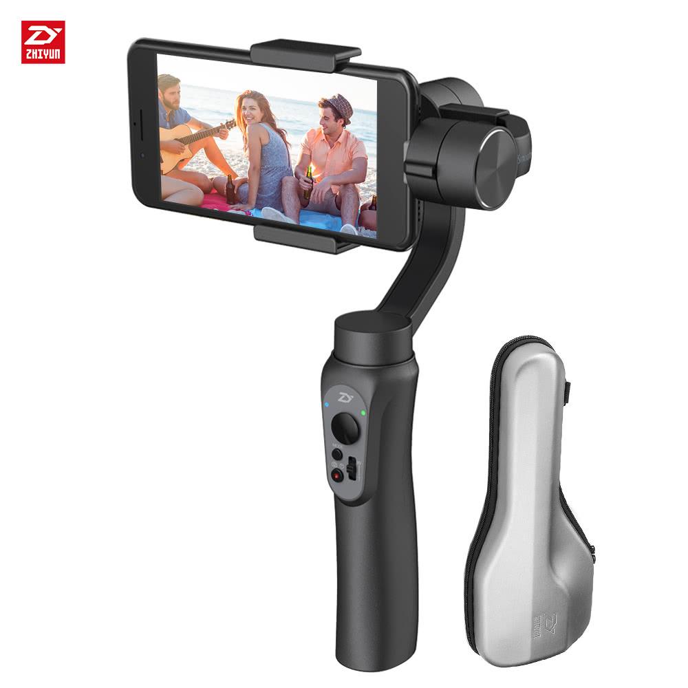 Zhiyun Smooth-Q 3-Achsen Smartphone Gimbal - Versand aus Deutschland! TomTop