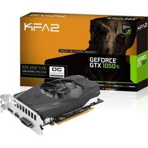 [Ebay.de] KFA2 GeForce GTX 1050 Ti OC 4GB Grafikkarte für 128€ inkl. Versand.