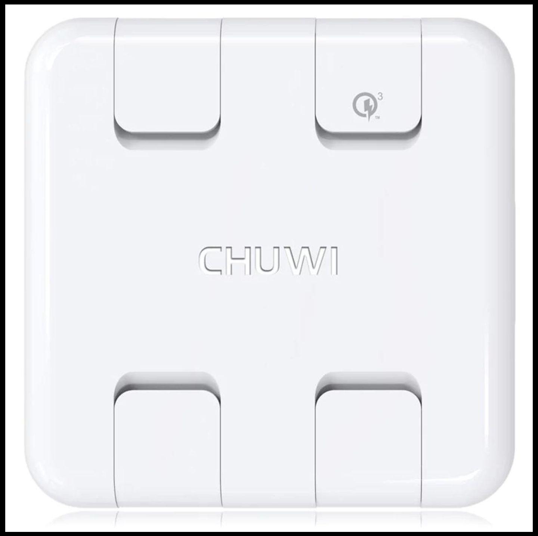 (Amazon) CHUWI 4 Port USB Netzteil Qualcomm davon 1x QC 3.0 mit GSC um 13.90€