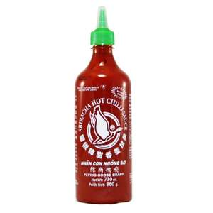 Flying Goose Chilisauce, Sriracha scharf, 2er Pack (2 x 730 ml, 4,78€/l)