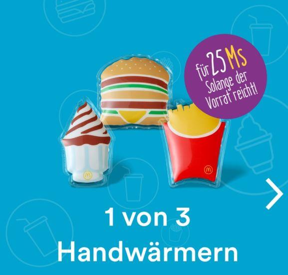McDonalds's - 3 neue Goodies gegen M's