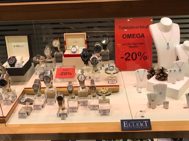 -20% auf Omega Uhren