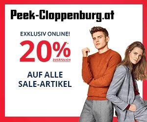Peek & Cloppenburg: 20% Rabatt auf bereits reduzierte Artikel - nur bis zum 29. Jänner