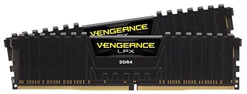 Corsair Vengeance LPX schwarz DIMM Kit 16GB, DDR4-2800, CL16-18-18-36 für 137,65€