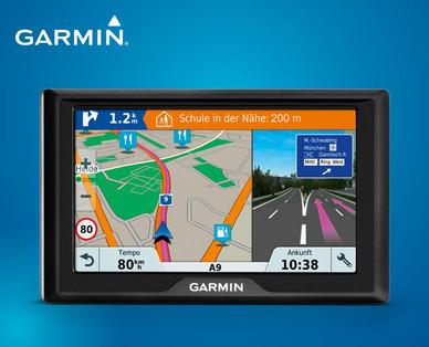 Hofer: Garmin Drive 51 LMT-S CE Navigationsgerät - lebenslang Kartenupdates & Verkehrsinfos, Sicherheitspaket (5 Zoll) für 79,99€