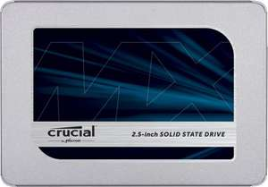 Amazon.es (Vorbesteller): Crucial MX500, 500GB SSD um 102,84€