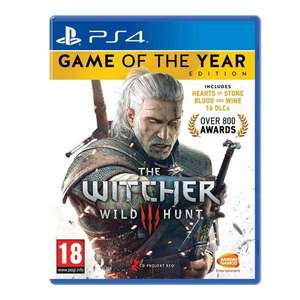 Gamestop:The Witcher 3: Wild Hunt (Game of the Year-Edition)