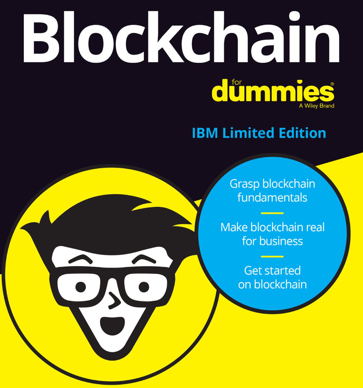 """BitCoins verstehen - GRATIS eBook/PDF """"Blockchain for Dummies"""""""