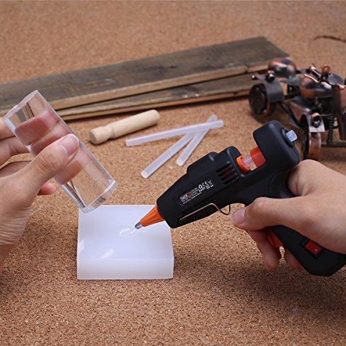 20W Heißklebepistole, Klebepistole mit 50 Stück