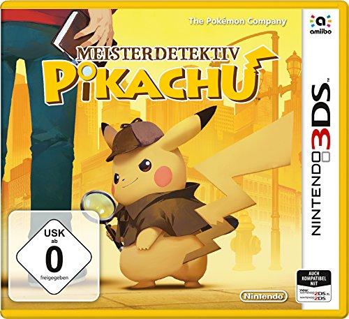 INFO : Meisterdetektiv Pikachu - 3DS Game & amiibo vorbestellbar