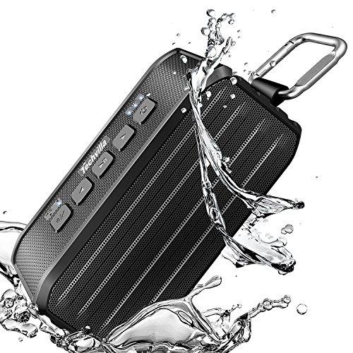 Tragbare Bluetooth Lautsprecher Outdoor, IPX6 Wasserdicht für 13,49€