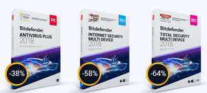BitDefender Total Security 2018, 5 User, 1 Jahr (Multi-Device)